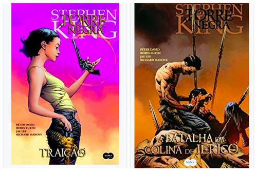 livro stephen king traição + batalha colina jericó capa dura