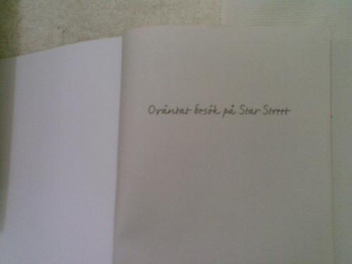 livro   sueco   ovantat  besok  pa  star  street