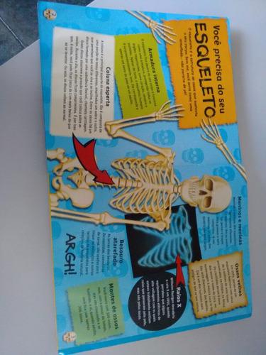 livro superesqueleto - monte seu esqueleto