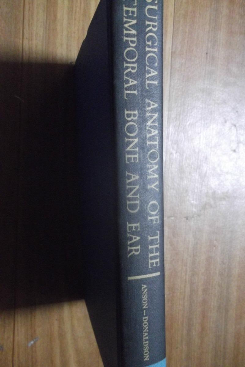 Livro Surgical Anatomy Of The Temporal Bone And Ear - R$ 227,00 em ...