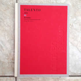 Livro Talento Joia De Artista Lina Bo Bardi - Arquitetura C2