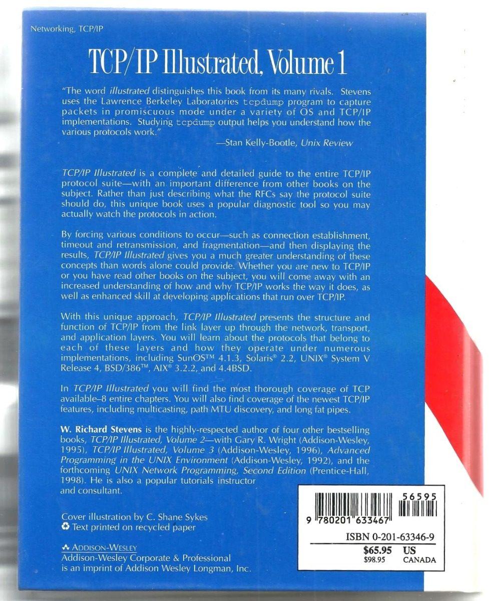 tcp ip illustrated volume 1 the protocols