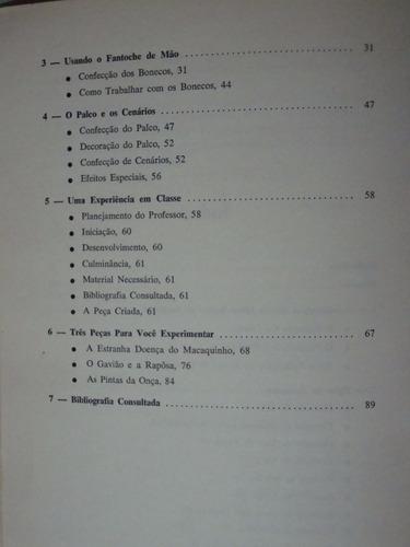 livro teatro de fantoches na escola dinâmica   livro técnico
