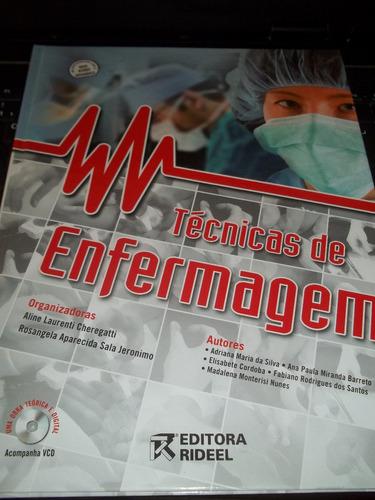 livro técnicas de enfermagem aline laurenti rideel ano 2009