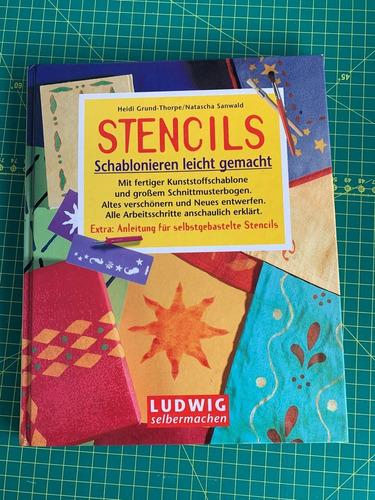 livro técnicas stencils - alemão - passso a  passo
