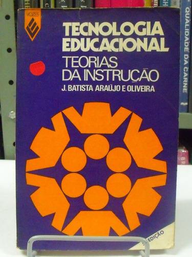 livro -tecnologia educacional - teorias da instrução
