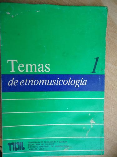 livro - temas de etnomusicologia 1 - em espanhol