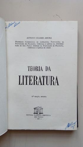 livro teoria da literatura