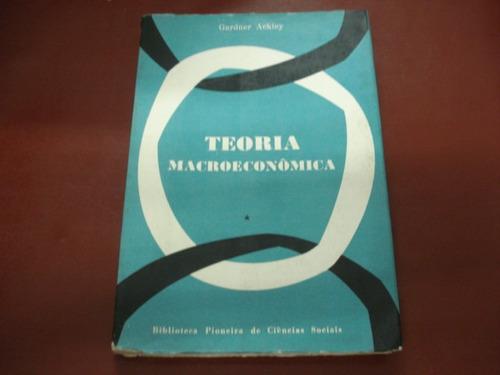 livro - teoria macroeconômica - gardner ackley