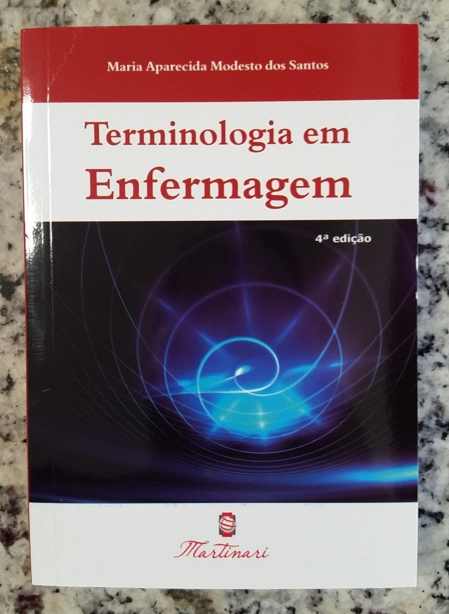 livro de terminologia de enfermagem para