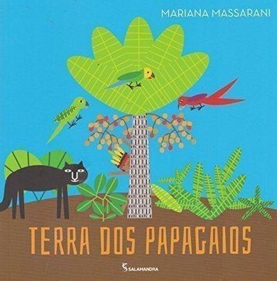 livro terra dos papagaios mariana massarani