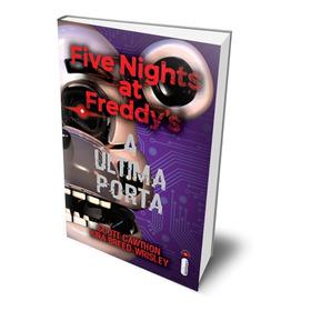Livro Terror Five Nights At Freddys A Última Porta Jogo Fnaf