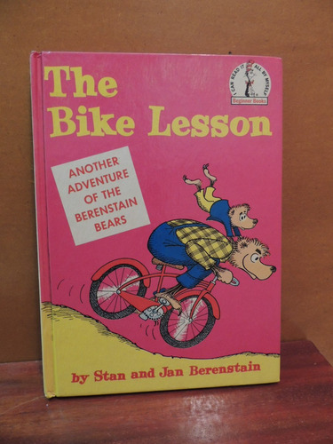 livro the bike lesson stan and jan berenstain