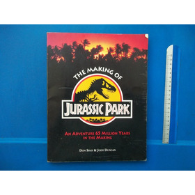 Livro The Making Of Jurassic Park 1993 Don Shay Jody Duncan