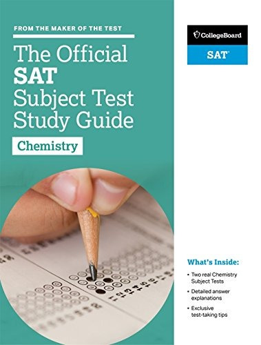 livro the official sat subject test in chemistry study guid