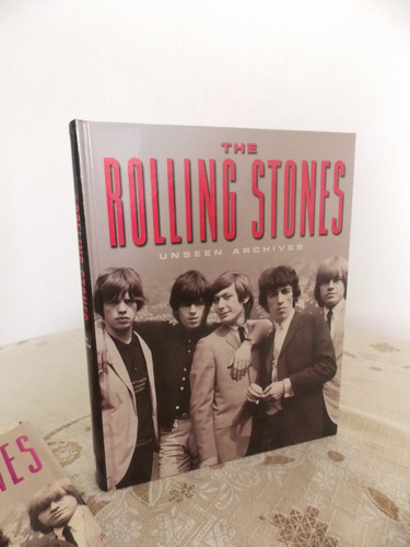 livro the rolling stones unseen archives importado