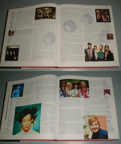 livro the virgin illustrated encyclopedia of rock ( inglês )