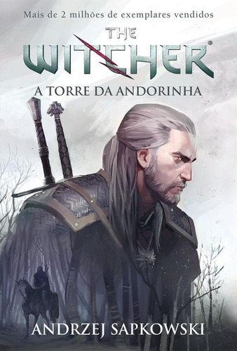 livro the witcher a torre da andorinha vol. 6 pronta entrega