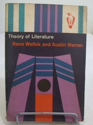 livro - theory of literature - renee wellek - austin warren
