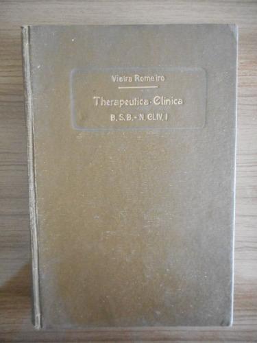 livro therapeutica clinica biblioteca scientifica brasileira