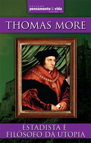livro - thomas more - estadista e filósofo da utopia