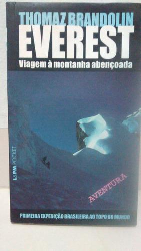 livro-thomaz brandolin - everest viagem á montanha abençoada