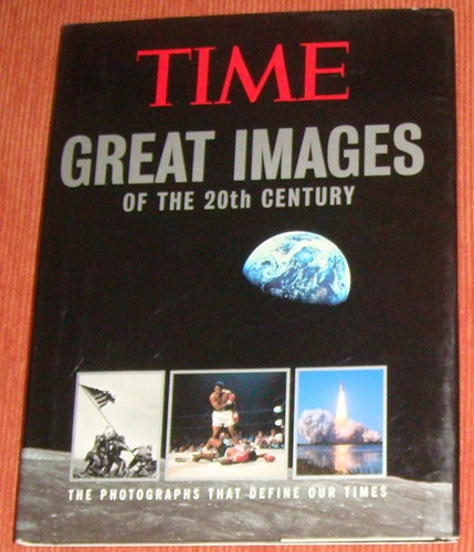livro time great images of the 20th century ( inglês )
