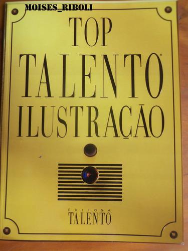 livro top talento ilustração b7