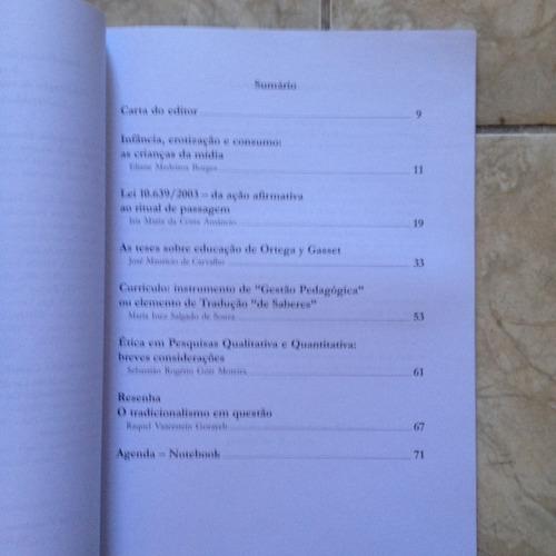 livro transformação educação em revista mestrado em edu c2