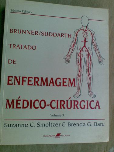 livro - tratado de enfermagem médico-cirúrgico 3 - suzanne c