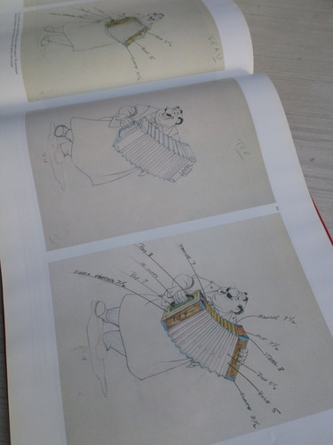 livro treasures of disney animation art inglês frete grátis