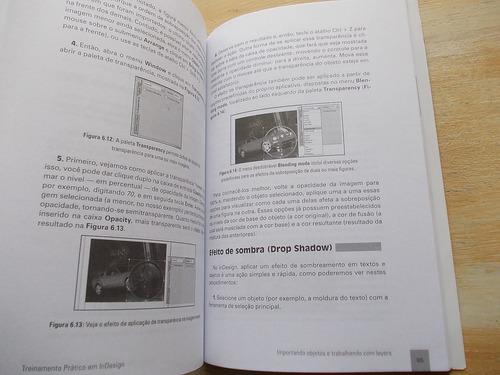 livro - treinamento prático em indesign - eduardo moraz