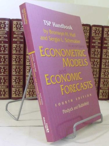 livro  tsp handbook to accompany econometric models
