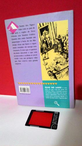 livro turma dos tigres o barco do demônio - thomas brezina