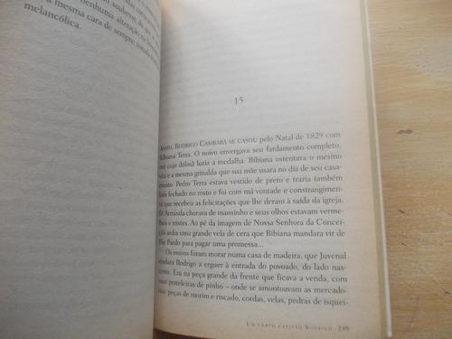 livro - um certo capitão rodrigo - érico veríssimo - 2001