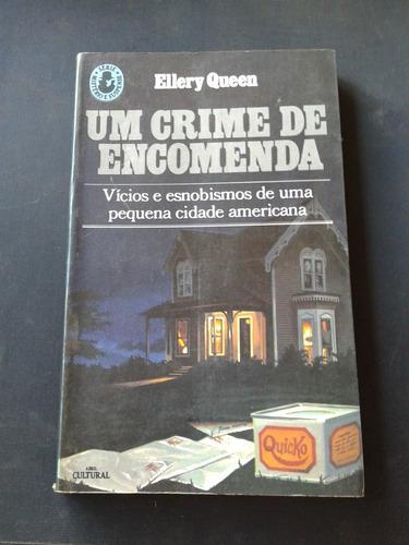 livro um crime de encomenda (1-d)