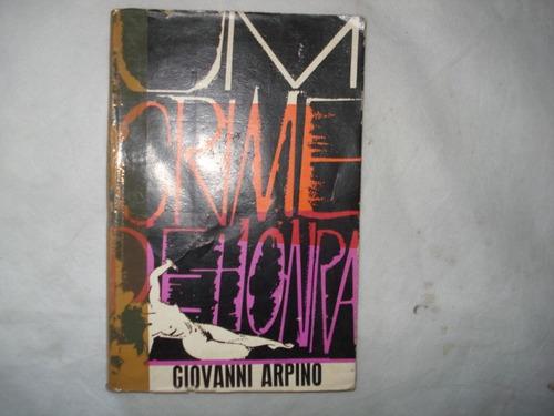 livro - um crime de honra - giovanni arpino