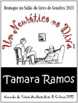 livro  um neurótico no divã / tamara ramos