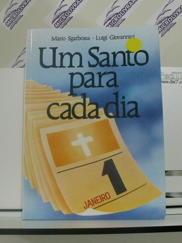 livro um santo para cada dia mario sgarbossa