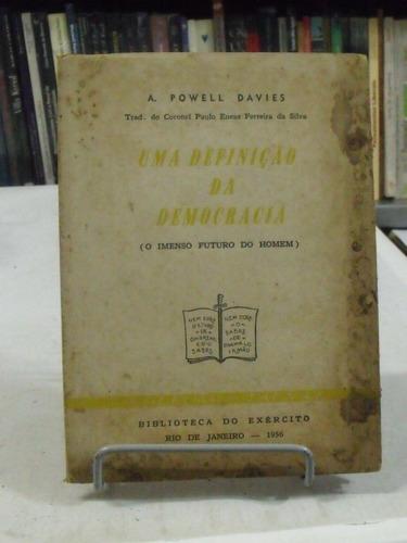 livro - uma definição da democracia - a. powell davies