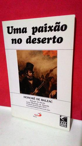 livro uma paixão no deserto- honoré de balzac