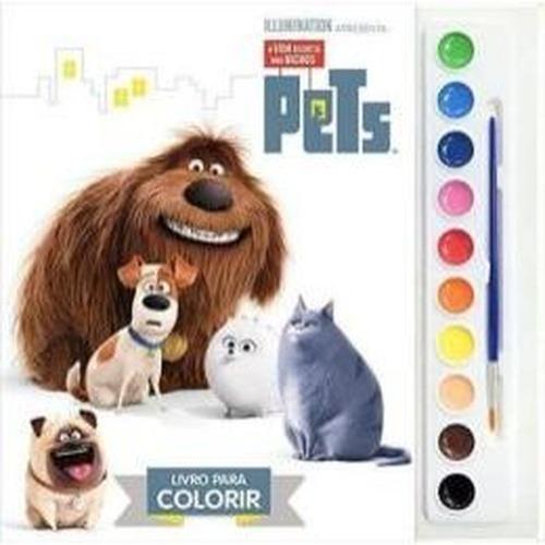 livro universal pets aquarela dcl