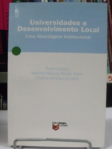 livro - universidade e desenvolvimento local - sueli goulart