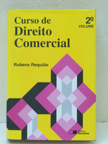 livro universitario curso de direito comercial 2o volume1998