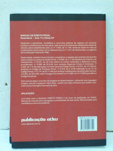 livro universitario manual direito penal parte geral vol.1