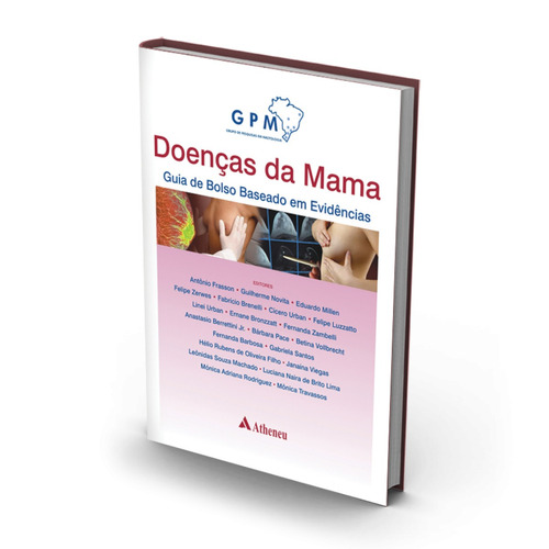 livro universitário, mastologista