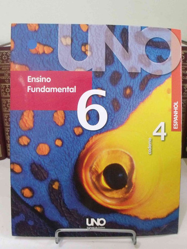 livro - uno - ensino fundamental 6 - caderno 4 - espanhol