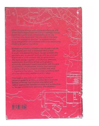 livro urbanismo ecológico (inglês). por mostafavi e doherty