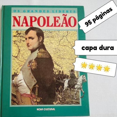 livro usado os grandes lideres napoleao *** estrelas veja