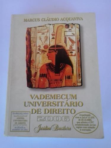 livro - vademecum universitário de direito - 2006